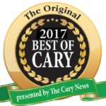 best of cary badge